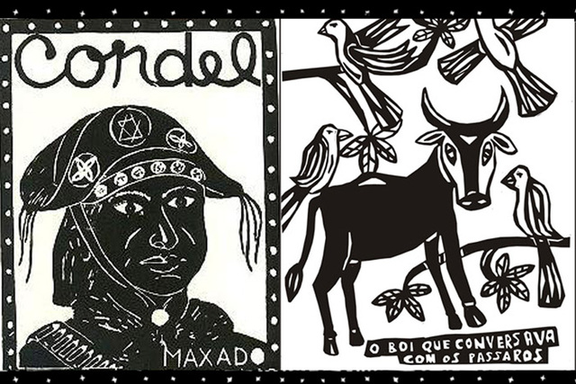 La poesía de Cordel en Nordeste de Brasil Xilogravuras