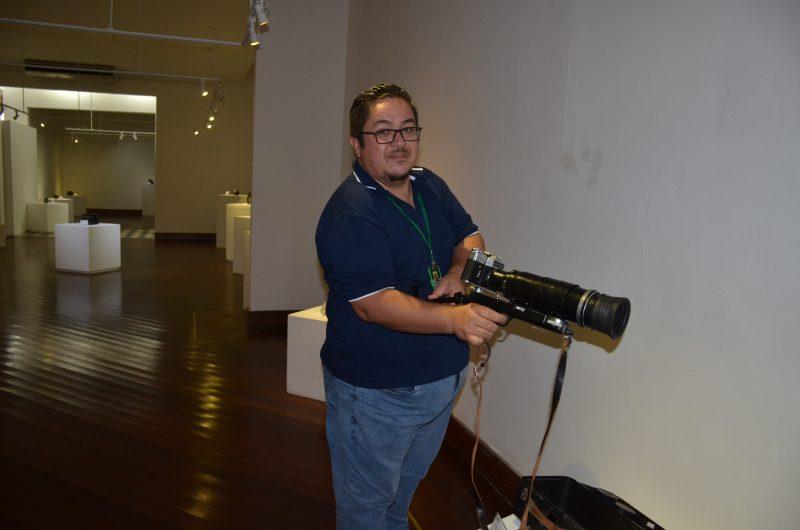 Exposição de máquinas fotográficas é atração no MACC durante temporada de verão (Foto: Fundacc)