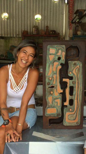 Ceramistas de Caraguatatuba participam de encontro em Paraty (Fotos: JC Curtis/Fundacc)