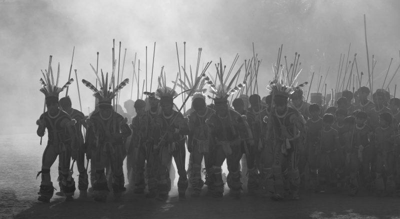 Fotógrafo indigenista e artista plástico apresentam exposição 'Ameríndios do Brasil' (Fotos: Renato Soares)