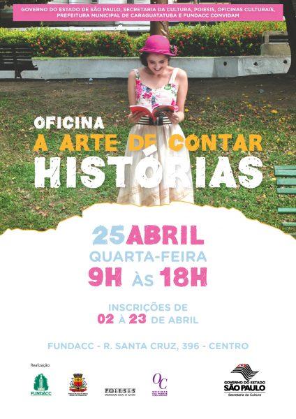 Inscrições abertas para oficina 'A Arte de Contar Histórias' (Fotos: Divulgação)